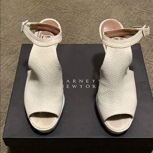 Barney's NY Women's Peep Toe Heels